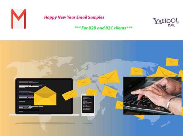Happy New Year Email Samples