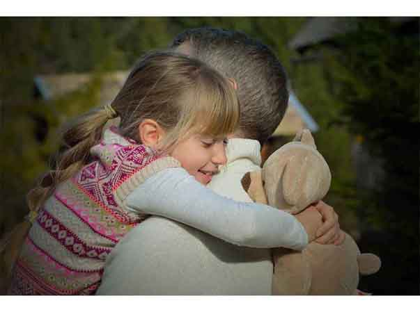 New Year wishes for Father from daughter