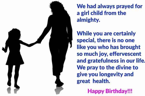 Birthday message to Autistic Daughter from Mother