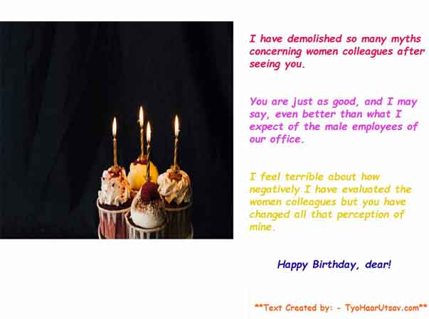 How to wish your women colleagues funny and inspiring Happy Birthday wishes