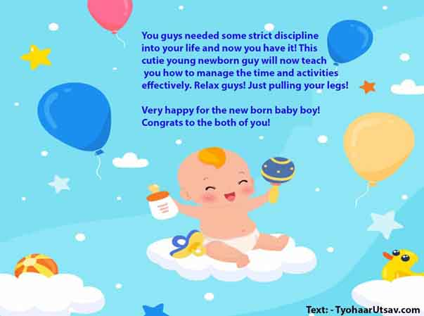 NewBorn BabyBoy Congratulation Wishes, Images | For Friends, Brother,  Sister & more!