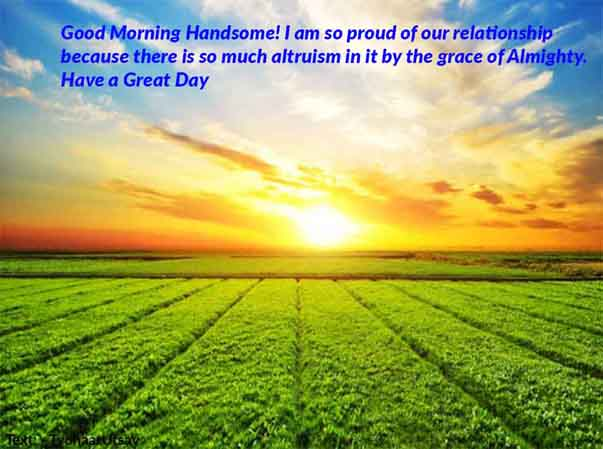 Godly Christian Morning message to your Boyfriend with Image