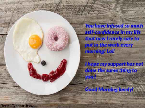 Image of Another funny wish of the very good morning to your boyfriend